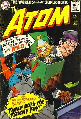 ATOM ISSUE 23 1st SERIES AMERICAN COMIC BY DC + FREE & FOIL BALLOON