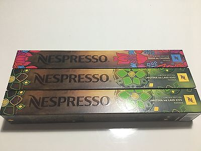 Nespresso Limited Editions 30 capsules
