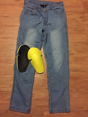 Motorcycle Jeans Kevlar Size 34