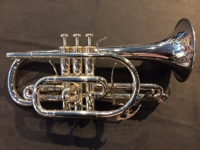 YAMAHA YCR-8335 Xeno Series Bb Cornet with hard case Good Condition