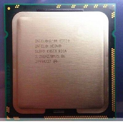 Intel Xeon E5520 SLBFD CPU Processor 5.86 GT/s 2.26 GHz LGA 1366/Socket B