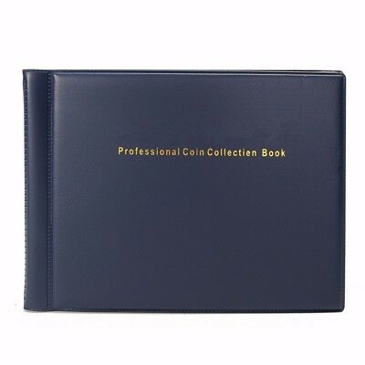 10x12 Coin Holders Collecting Collection Storage Money Pockets Penny Album Book