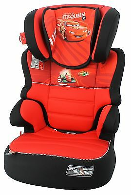 Befix Sp Disney Cars Group 2-3 ( 15 - 36Kg) 4 To 11 Years