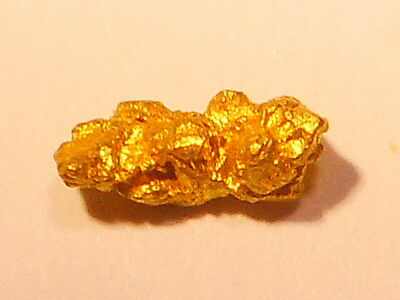One Sparkling Australian Gold Nugget  ( 0.39 grams) .
