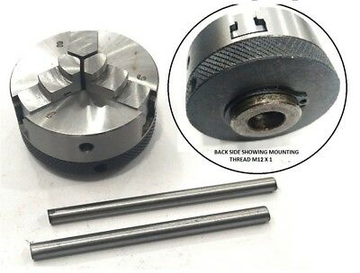 Diameter 50 mm 3 jaws Self Centering Small Chuck for Rotary Table