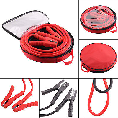 Heavy Duty 1200AMP Car Van Jump Leads 6 METRE Booster Cables Start Recovery New
