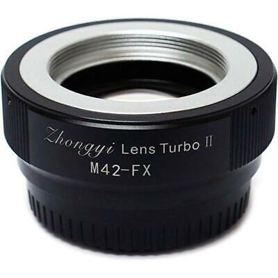 Mitakon Zhongyi M42 Lens to Fuji X Camera Turbo Mark II Adapter #MTKLTM2M422X