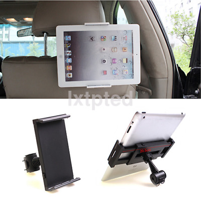 Car Back 360°Seat Headrest Mount Holder for iPad mini/2/3/4/Air Galaxy Tablet a~