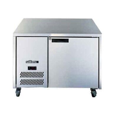 Williams Opal 1 Door Freezer LO1U Stainless Steel