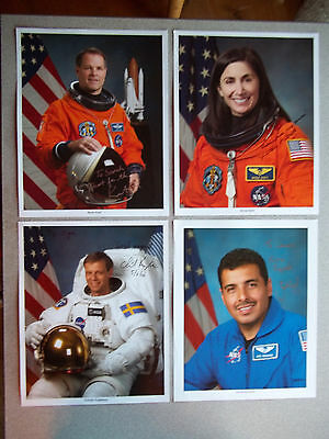 STS-128 Complete Crew set of Autographed Photo Singles