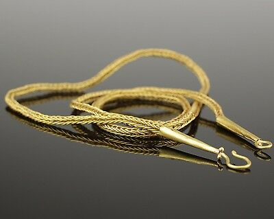 Ancient Roman Gold Necklace  - Circa 2Nd Century Ad  013