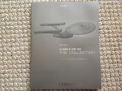 40 YEARS OF STAR TREK- CHRISTIE'S- THE COLLECTION- 5-7 OCT 2006 (501 LOTS)part 1