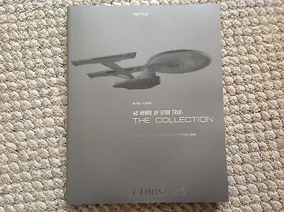 40 YEARS OF STAR TREK- cHRISTIE'S-THE COLLECTION- 5-7 OCT (502-1000 LOTS) part 2