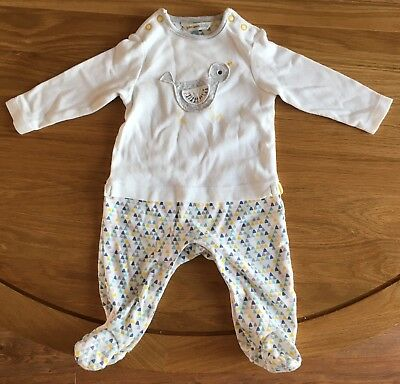 John Lewis Duck Baby grow Unisex Size 3-6 Months Excellent Condition