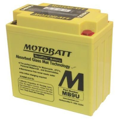 Motobatt Battery For Honda CH125 Elite 125cc 1984