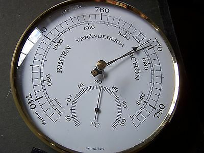 Wetterstation Barometer Thermometer
