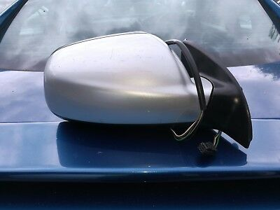 GENUINE PEUGEOT 307cc O//S POWER FOLDING DRIVERS WING MIRROR GOLD//ORANGE