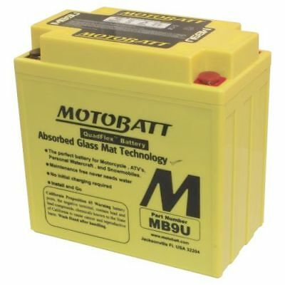 Motobatt Battery For Harley-Davidson SS250, SX250 250cc 75-78