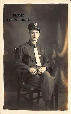 "Williamsport, Pennsylvania ""Fireman-Early 1900'S"" Rppc Real Photo Postcard"