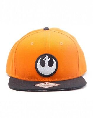 Licensed Star Wars The Resistance Logo Cotton Snapback Cap Baseball Hat