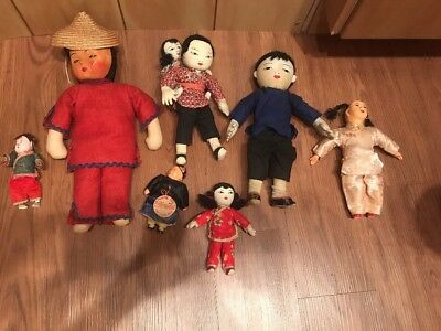 Antique Asian Chinese Dolls Michael Lee