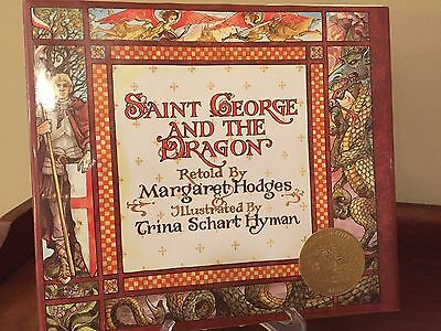 """""""Saint George and the Dragon"""" 1984. By Margaret Hodges. Excellent"""