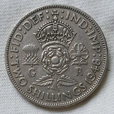 1948 Great Britain Two Shillings