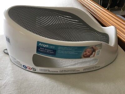 Angelcare Bath Support Grey Baby Bath support So Comfortable