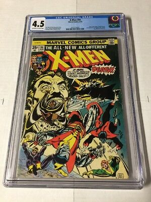 X-men 94 Cgc 4.5 Ow/w Pages
