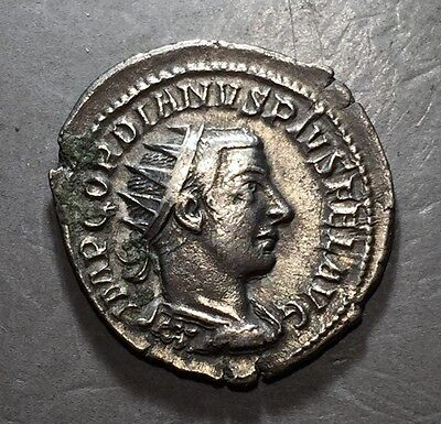 ANCIENT ROME Gordian III 238-244 AD  Silver   ROME MINT  #A185