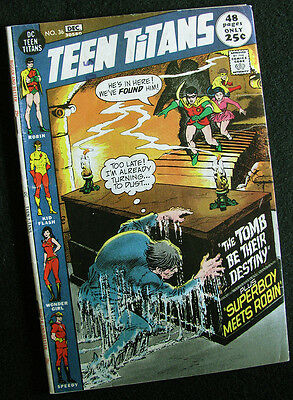 Teen Titans 36 (1971) Four Great Stories! Nice Mid-Grade! Large Photos!