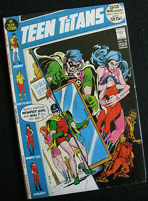 Teen Titans 38 (1972) Four Great Stories! Nice Mid-Grade! Large Photos!