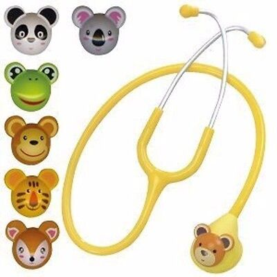 Pediatric Animal Stethoscope Spirit 7 changeable animal faces Coopers Care UK