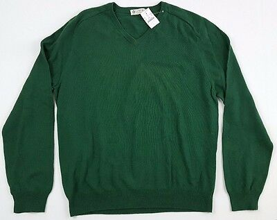 NWT J.Crew Mens XL Cotton Cashmere V-neck Sweater Style 86055 New