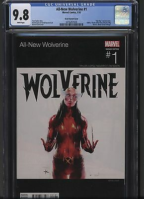 All New Wolverine 1 Marvel 2016 CGC 9.8 DMX Hip Hop variant X 23 Hot! Free S/H!