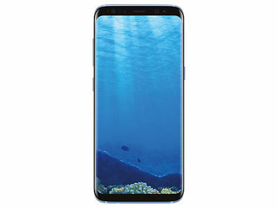 New Samsung Galaxy S8 Sm-G950U  64Gb Factory Unlocked - Coral Blue