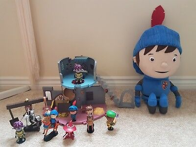 Mike The Knight Toy Bundle Castle With Figures And Large Soft Toy