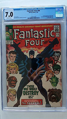 Fantastic Four #46 CGC 7.0 F/VF   1st Full Appearance Black Bolt