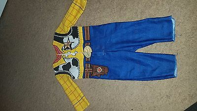 Disney Toy Story Woody Baby Costume Suit 12/18 Months
