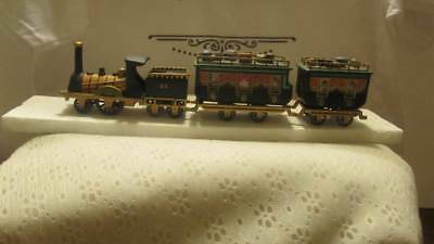 """Vintage Department 56 Dickens Village Series """"The Flying Scot"""" Train Retired"""