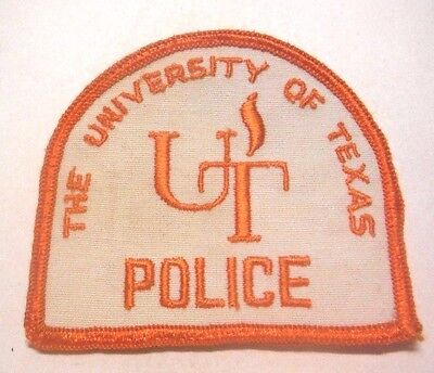 Old The Ut University Of Texas Police Patch Unused