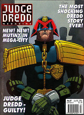 Judge Dredd Megazine #57 Volume 2 , Jul 1994 , 2000AD , Fleetway , VERY FINE