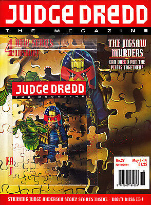 Judge Dredd Megazine #27 Volume 2 , May 1993 , 2000AD , Fleetway , VERY FINE