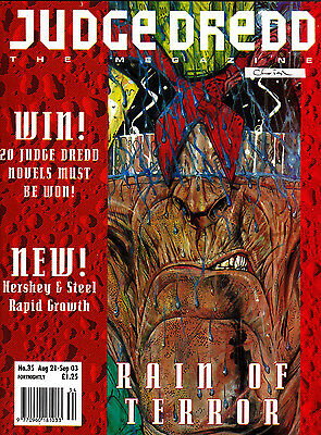 Judge Dredd Megazine #35 Volume 2 , Aug 1993 , 2000AD , Fleetway , VERY FINE