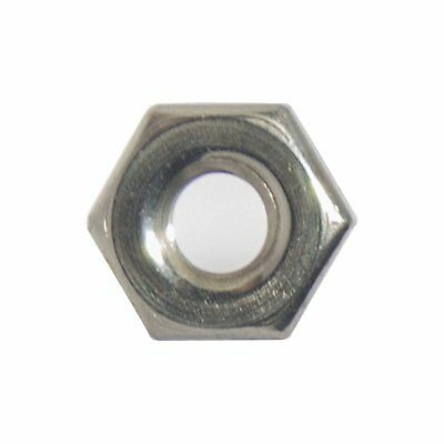 3-48 Machine Screw Hex Nuts Stainless Steel 18-8 Qty 100