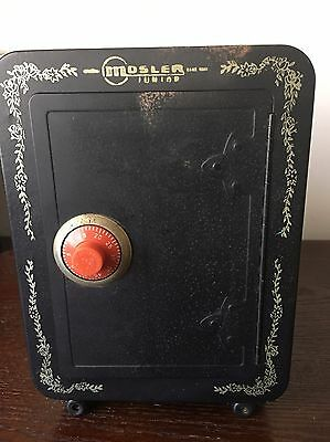 Old Mosler coin money bank