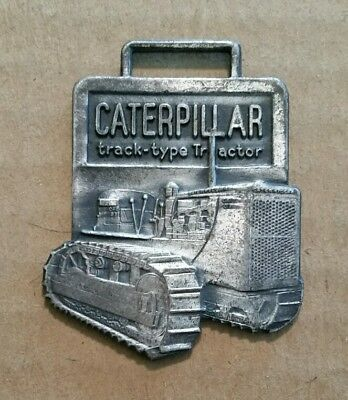 Caterpillar Track-Type Tractor,Watch Fob,1940's