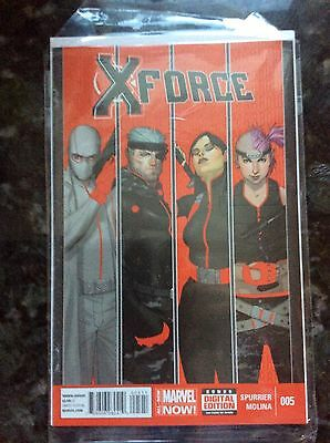 X-Force #5! Marvel Now! Nm!