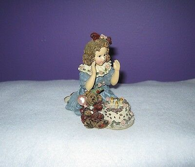 Boyd's - Yesterdays Child - Figurine - Rebbecca with Elliott - Birthday #3509