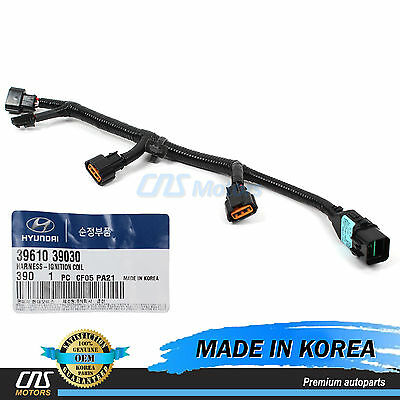 on ignition coil wire harness